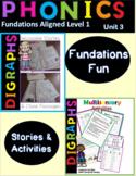 Digraph Decodable Stories and Multi-Sensory Activities Bundle