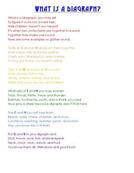 Diagraph Poem