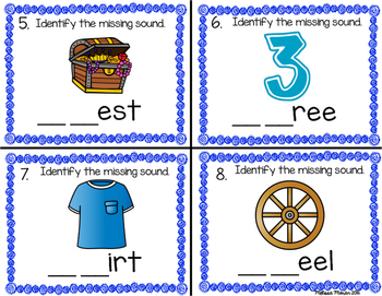 Digraph Task Cards (th, ch, wh and sh)