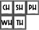 Diagraph Sorting Mat (Ch, Sh, Th, Wh, Ph)