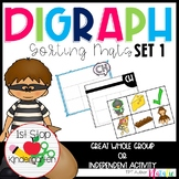 Digraph Sorting Mat- Diagraph Sorting Mat (Ch, Sh, Th, Wh, Ph)