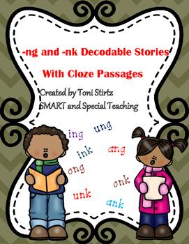 Diagraph Stories with Cloze Passages