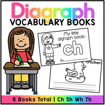 Diagraph Vocabulary Books