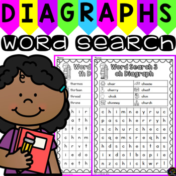 Diagraph Word Search Puzzles