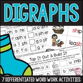 Diagraphs Worksheets and Activities