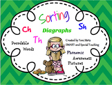 Winter Digraph Word and Picture Sort
