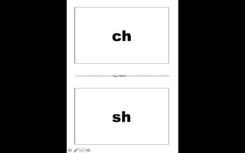 Diagraph /ch/ and /sh/