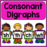Digraphs (th, ch, wh and sh)