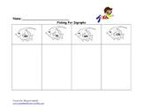 Diagraph worksheet