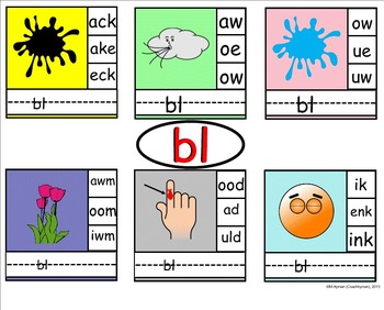 Diagraphs – 13 Beginning Blends. A SmartBoard Introduction.
