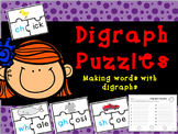Digraphs Match Up Puzzles
