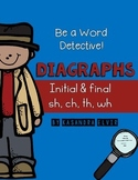Word Detective Digraphs CH, SH, WH, TH