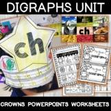 Quick Diagraphs Unit- th, ch, wh, sh, ph, ng, qu
