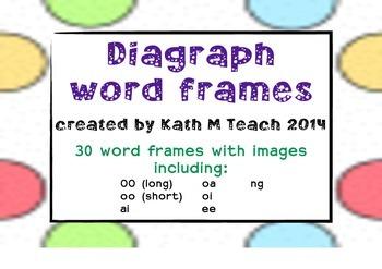 Diagraphs Word Frames