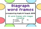 Diagraphs Word Frames