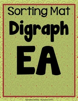 Word Work: Digraphs EA, EE, AI, AY, OA, OW