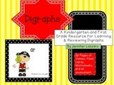 Digraphs for Kindergarten and First Grade