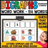 Diagraphs (wh, sh, th, ch, ph)