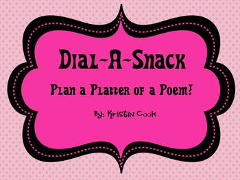 Dial-A-Snack: Create a Platter of a Poem