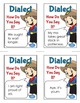 Dialect Game with Task Cards Activity