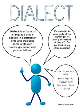 Dialect-Journal Page