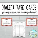 Dialect Task Cards