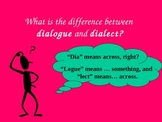 Dialect vs. Standard American English
