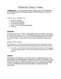 Dialectic Essay Quick Reference Guide