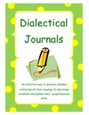 Dialectical Journal Packet