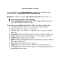 Dialectical Journal for I am Malala with Rubric