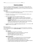 Dialectical Journal for Novels