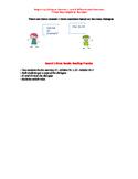 Dialog Stundenplan German Speaking Activity