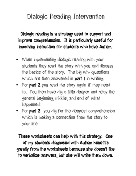 Dialogic Reading Comprehension Strategy