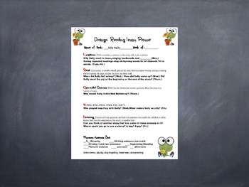Dialogic Reading powerpoint presentation