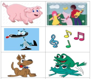 Dialogic reading for Silly Sally and rhyming