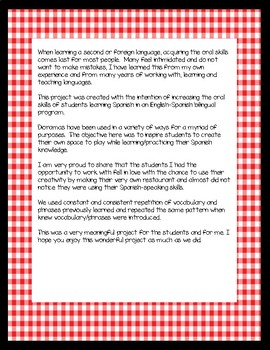 Diálogo del Restaurante