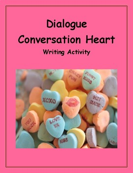 Dialogue Conversation Heart Writing Activity