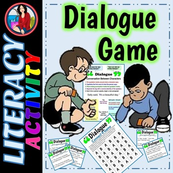 Dialogue Rules Punctuation and Capitalization Game