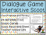 Dialogue Task Cards Scoot Game