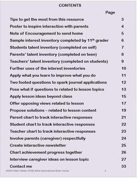 Communication BUNDLE for Parents, Teens and Teachers