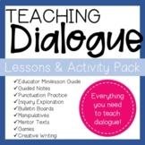 Dialogue Lessons & Activities Comprehensive Unit