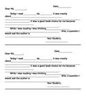Dialogue Letter Format