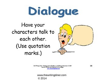 Dialogue Part 1 from The Writing Diner