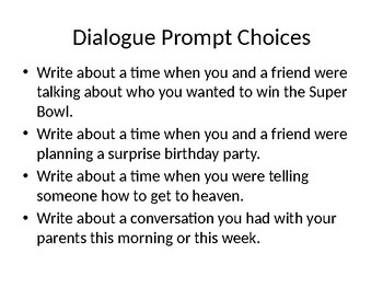 Dialogue Powerpoint