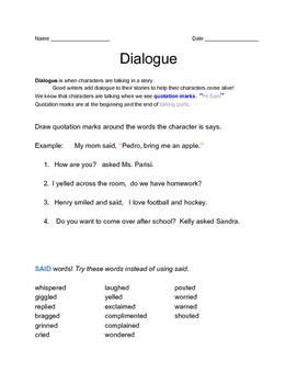 Dialogue Practice