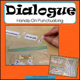 Dialogue Punctuating: a hands-on activity with notes/poster