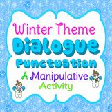 Dialogue Punctuation Activity - Winter Theme