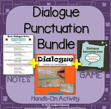 Dialogue Punctuation Bundle and Quotation Marks: Three Discounted Resources