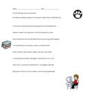 Dialogue Punctuation Editing Worksheet
