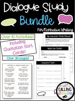 Dialogue Study Bundle!